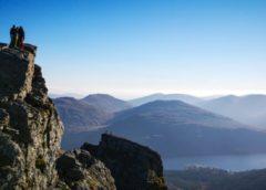 Škotijos kalnai: du vaizdingi korbetai Arrochar Alpėse
